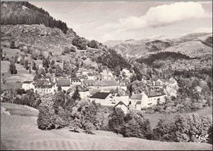 Les villages du Cantal:Thiezac