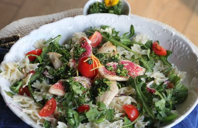 Salade italienne aux filets de rouget - balade italienne