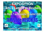 EXPO au temple de Meschers 2020