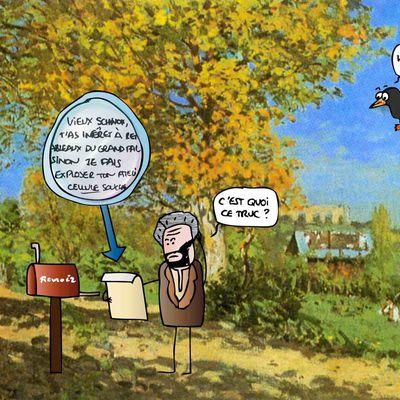 Le Corbeau et le Renoir