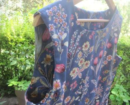 Robe à fleurettes