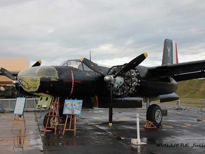Ici le magnifique Douglas A-26 Invader récemment restauré par le C.A.E.A. (Photo: Laurent Lamouche et Julien Villière)