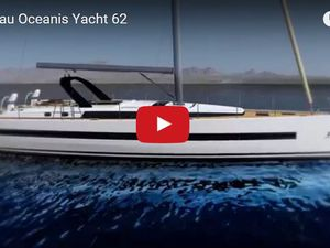 Video of the new Beneteau Oceanis Yacht 62