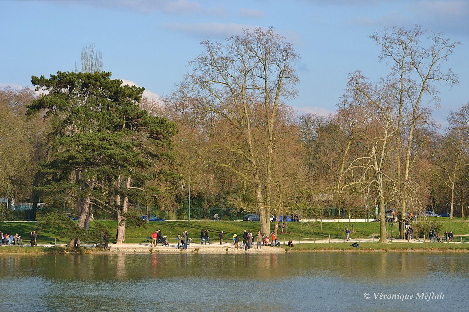 Le Lac Daumesnil, bois de Vincennes : Pierre Yrieix Daumesnil