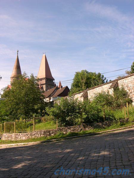 Château de Hunedoara, Roumanie en camping-car