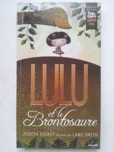 Lulu et le brontosaure. judith Viorst. (dès 8 ans)
