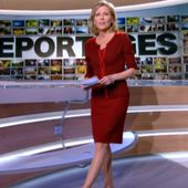 2013 02 09 - CLAIRE CHAZAL - TF1 - REPORTAGES @13H30