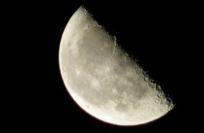 Nature : La lune nuit du 12/ 13 septembre 2017