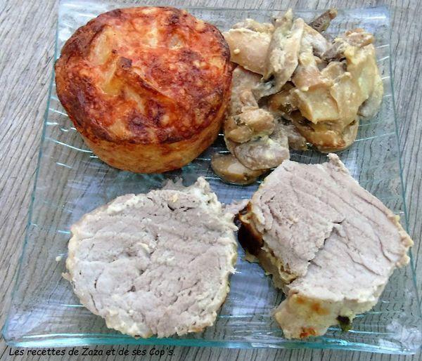 Filet mignon de porc OmnicuiseurVitalité