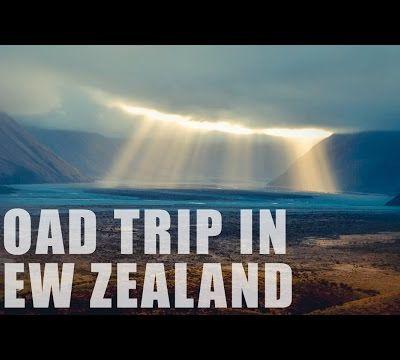 Vidéo du RoadTrip in NZ