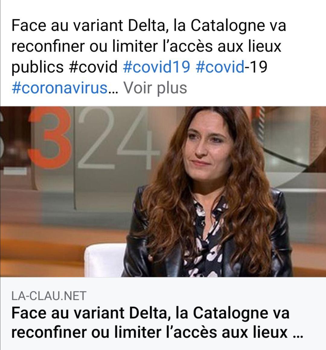 Reconfinement (peut être) en Catalogne
