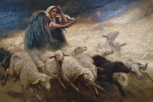 La violente agression d'une bergère au XVIIe siècle.