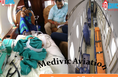 Medivic Aviation Air Ambulance 24/7 Emergency Service in Patna, Bihar