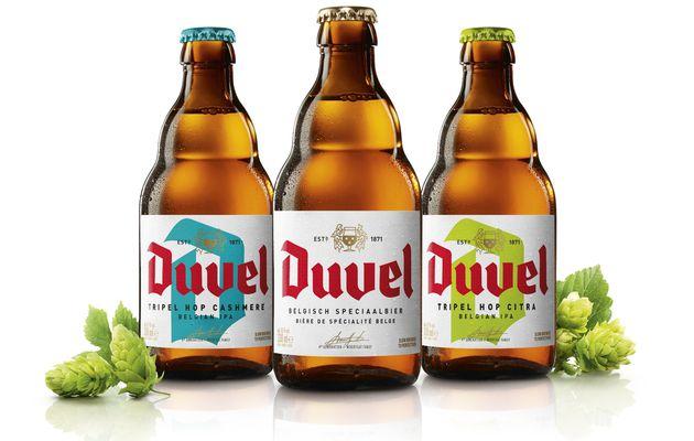 Packaging : Nouvelle bouteille et relooking d'étiquette pour la bière DUVEL