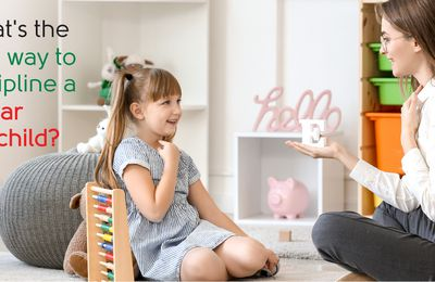 What's the best way to discipline a 3-year-old child?