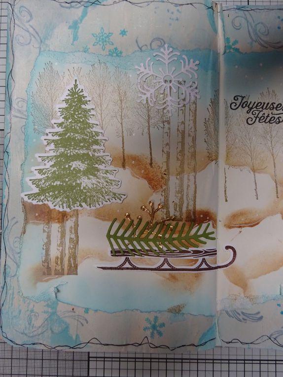 Art Journal: paysage hivernal
