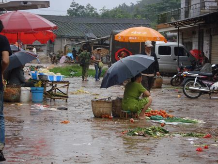 De Chengdu a la frontiere Laosienne