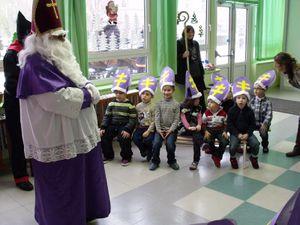 Saint Nicolas - Classe de maternelle pour l'année scolaire 2010 - 2011 avec Mme .... et Mme