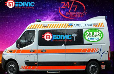 Medivic Ambulance Service in Bokaro-The Patient Transportation Available in Entire Jharkhand by Road Ambulance