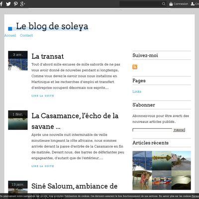 Le blog de soleya