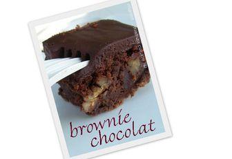 Le (meilleur) brownie recouvert de ganache, d'après Christophe Felder