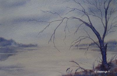 le lac.....