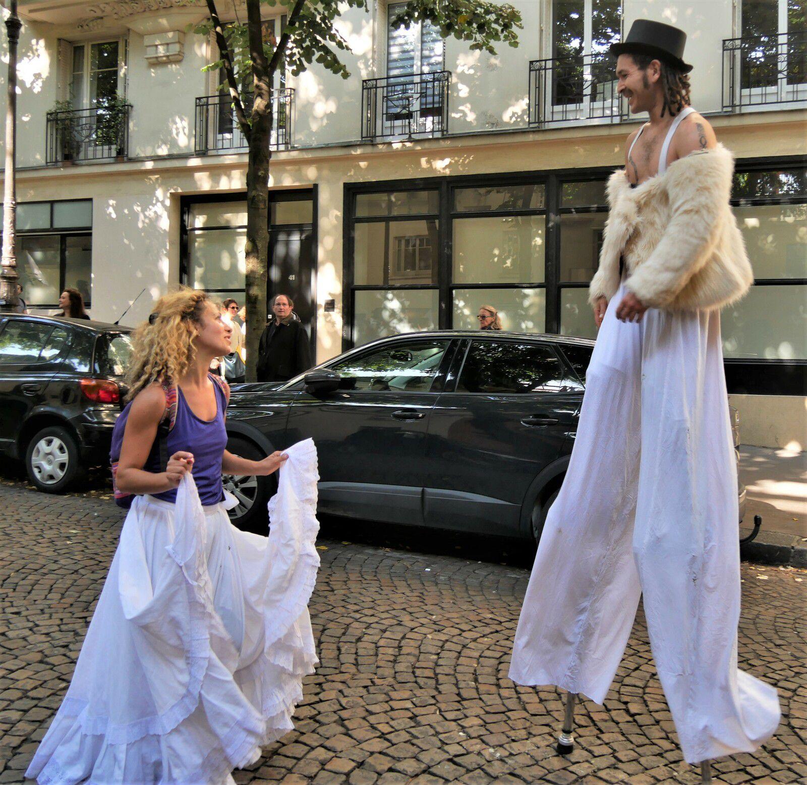 Défilé des vendanges. Montmartre 2021.