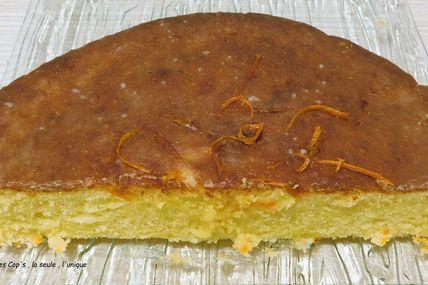 Gâteau tout doux et tout moelleux à l'orange