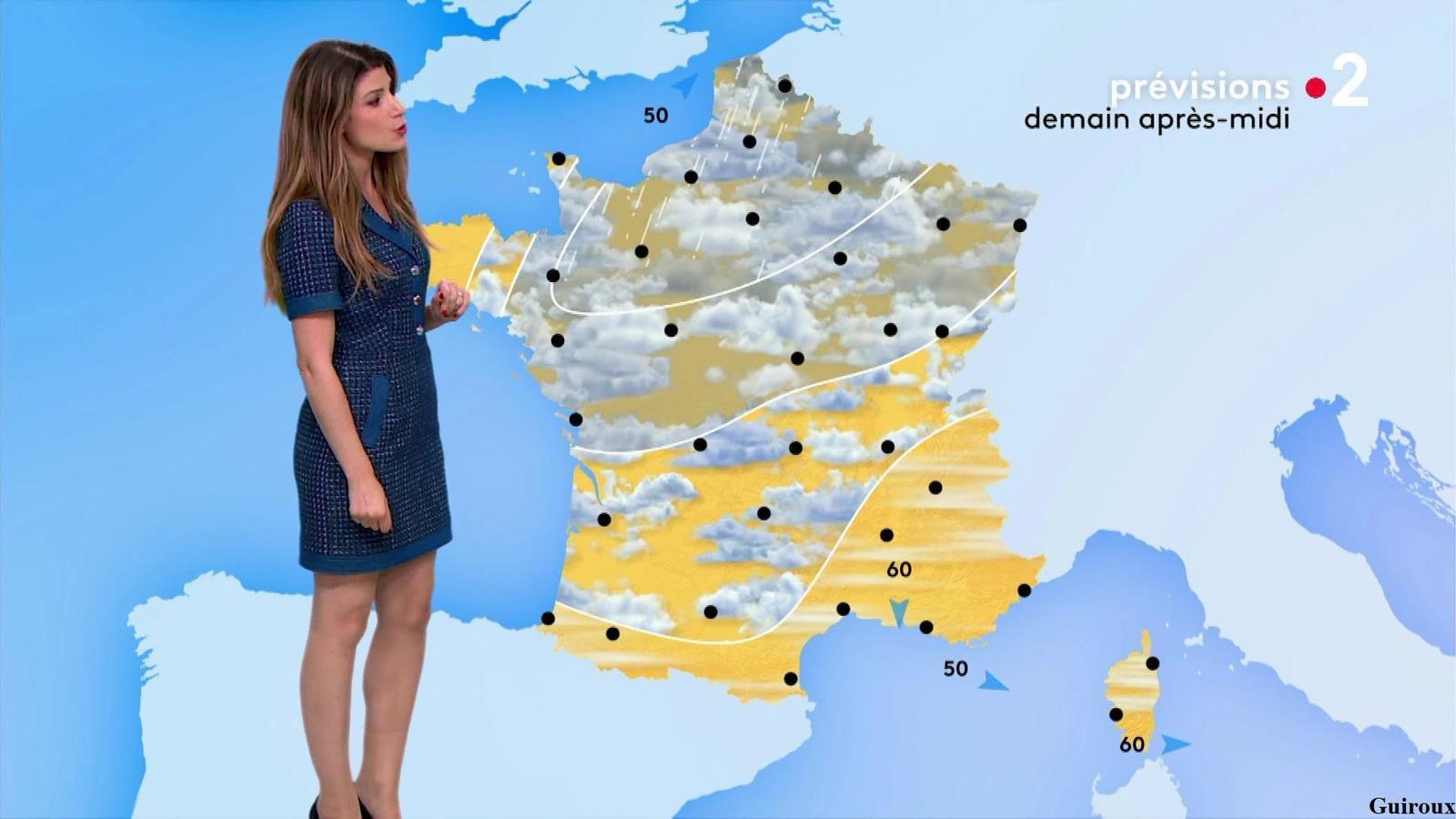 Chloé Nabédian 28/09/2020 Journal météo du soir