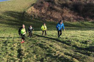 Entraînement pour le trail du ValJoly le samedi 10 février