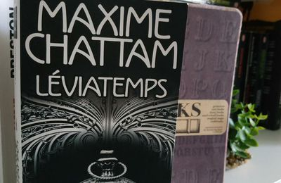 LEVIATEMPS de Maxime Chattam chez Pocket éditions