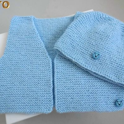 Nouveau TUTORIEL Tricot laine bébé fait main