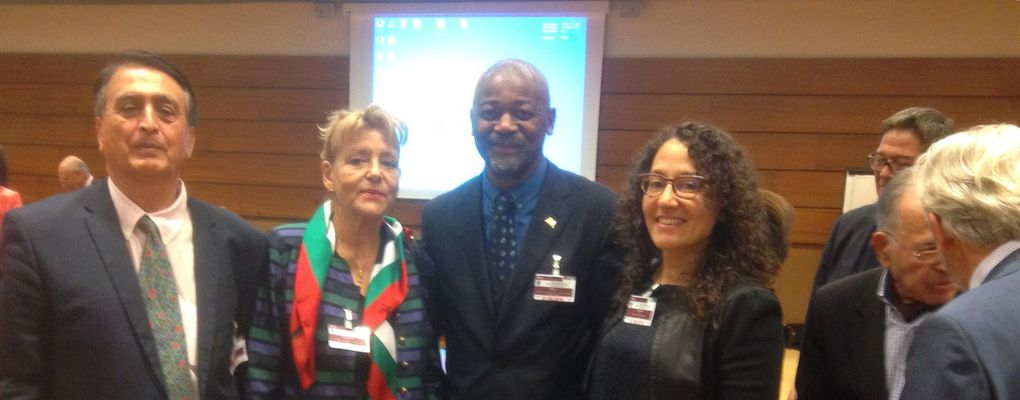 NATIONS UNIES, Francis MBELLA, invité au 7ème Congrès Mondial Scientifique: Un but, un objectif, contribuer au developpement de la Science et de la Culture, Genève, 5, 6, 7 Septembre 2016 -