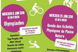 Olympiades des collèges (6juin) et Ronde Appn (20juin) - Moment incontournable de l'AS