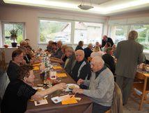 Repas des anciens à la Maisondici