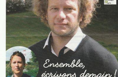 Dimanche 11 juin, je vais voter pour Gwenael Duret et Prune Le Dreff (Oui,la Bretagne !).