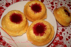 Biscuits Moelleux Cœur de Framboise