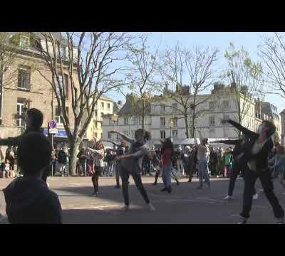 Flashmob Danser encore