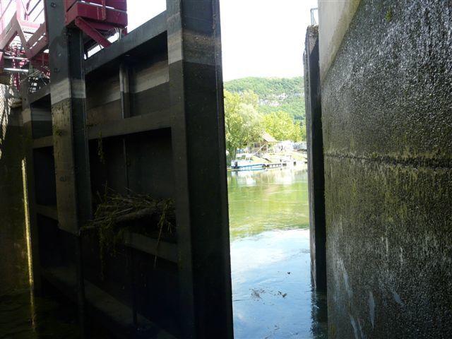 promenade sur le canal de Savières, le lac du bourget et le Rhône