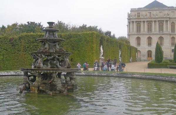 Visite des C.M.2 au château de Versailles.