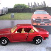235-B BMW 3.0 CSI BORDEAUX MAJORETTE 1/60 - car-collector.net