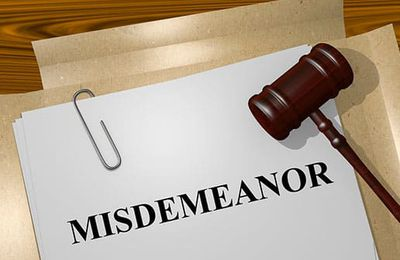 What is a Misdemeanor?