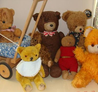mes collections: les ours anciens