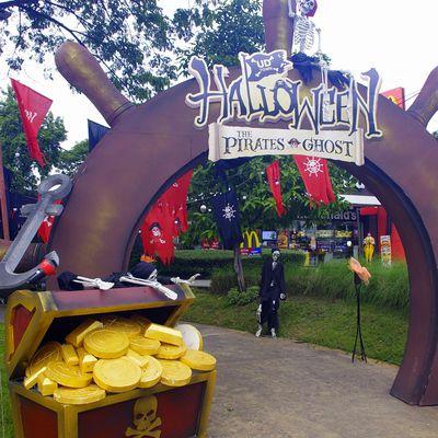Udonthani: 31 octobre 2020: Fête d'Halloween.