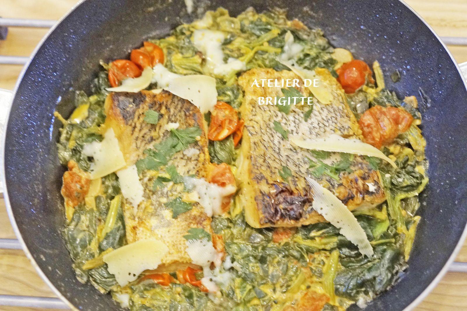 #poissonderivière #poisson #brochet #épinards #recette #recettedepoisson