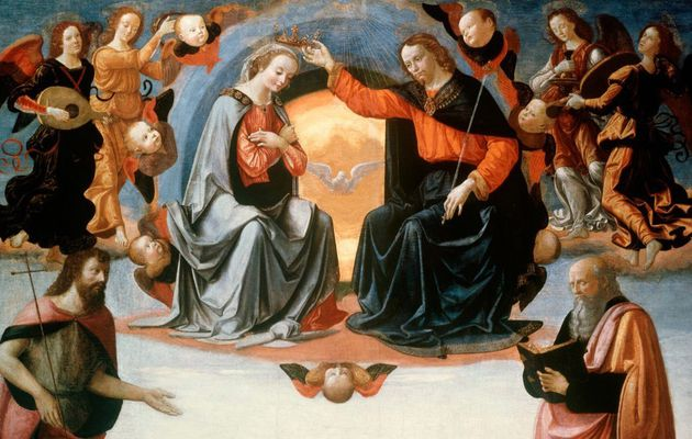 Mary, the bride of Jesus and the mutual kiss