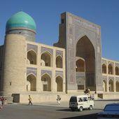 Boukhara - Medersa Miri Arab - LANKAART