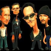 Caricature U2 - U2 BLOG