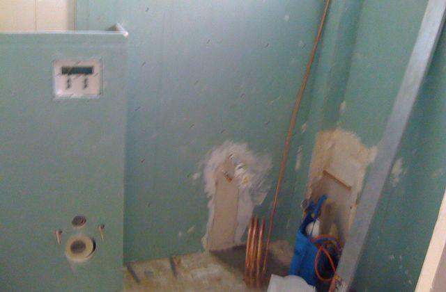 La salle d'eau : La plomberie