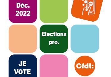 Elections professionnelles 2022 !